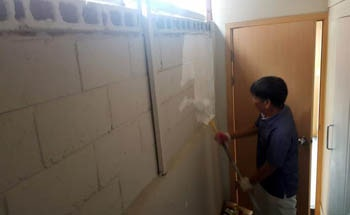 Waterproofing and Safety Repairs at the Jusarang Community Church - South Korea (Before - 8)
